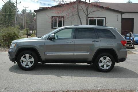 2012 Jeep Grand Cherokee for sale at Bruce H Richardson Auto Sales in Windham NH