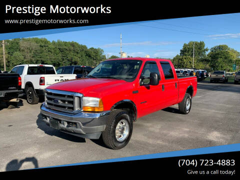 2001 Ford F-250 Super Duty for sale at Prestige Motorworks in Concord NC