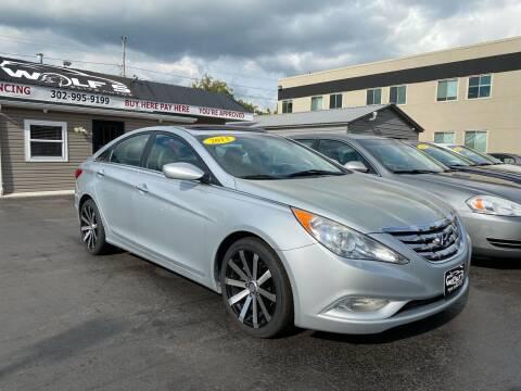 2013 Hyundai Sonata for sale at WOLF'S ELITE AUTOS in Wilmington DE