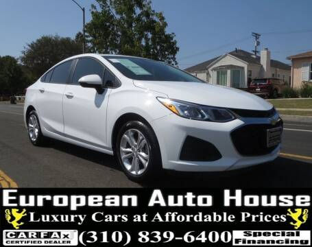 2019 Chevrolet Cruze for sale at European Auto House in Los Angeles CA