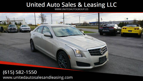 2013 Cadillac ATS for sale at United Auto Sales & Leasing LLC in La Vergne TN