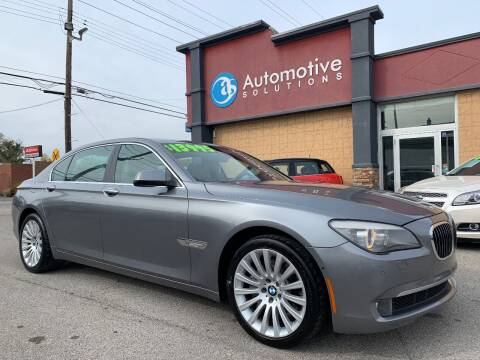 2010 BMW 7 Series for sale at Automotive Solutions in Louisville KY