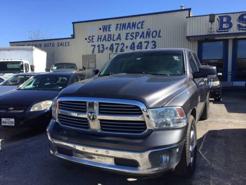 2015 RAM Ram Pickup 1500 for sale at BSA Used Cars in Pasadena TX