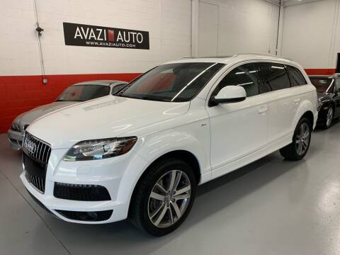 2012 Audi Q7 for sale at AVAZI AUTO GROUP LLC in Gaithersburg MD