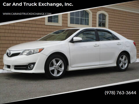 2014 Toyota Camry for sale at Car and Truck Exchange, Inc. in Rowley MA