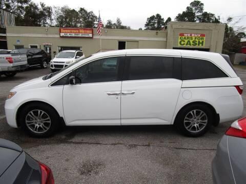 2013 Honda Odyssey for sale at DERIK HARE in Milton FL
