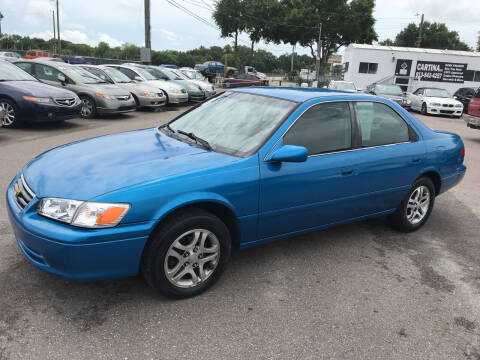 2001 Toyota Camry for sale at Cartina in Tampa FL