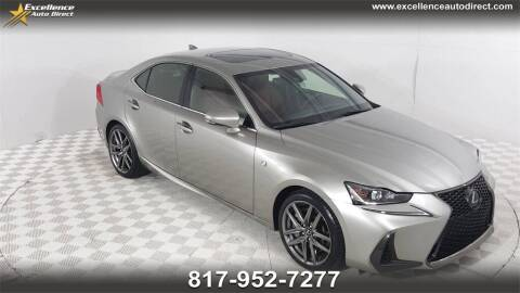 2017 Lexus IS 200t for sale at Excellence Auto Direct in Euless TX