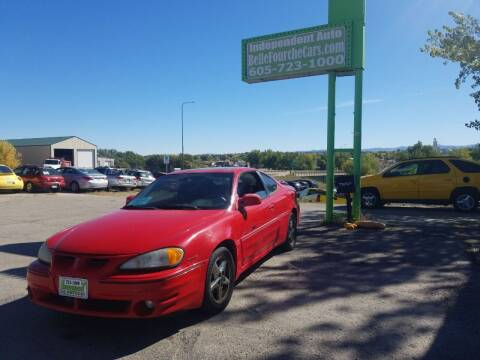 2001 Pontiac Grand Am for sale at Independent Auto in Belle Fourche SD