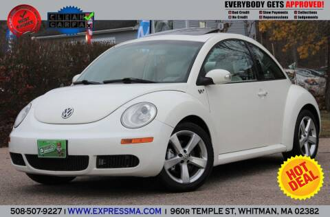 2008 Volkswagen New Beetle for sale at Auto Sales Express in Whitman MA