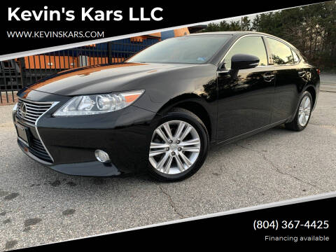 2015 Lexus ES 350 for sale at Kevin's Kars LLC in Richmond VA