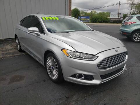 2013 Ford Fusion for sale at Used Car Factory Sales & Service Troy in Troy OH