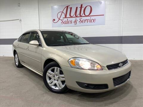 2010 Chevrolet Impala for sale at Auto Sales & Service Wholesale in Indianapolis IN