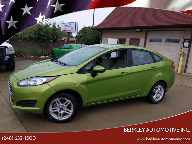2018 Ford Fiesta for sale at Berkley Automotive Inc. in Berkley MI
