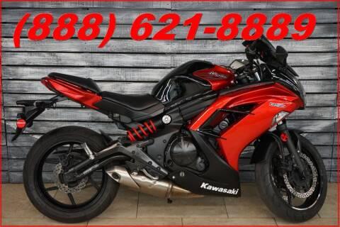 2013 Kawasaki Ninja 650R for sale at AZautorv.com in Mesa AZ