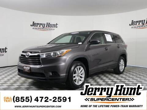 2016 Toyota Highlander for sale at Jerry Hunt Supercenter in Lexington NC
