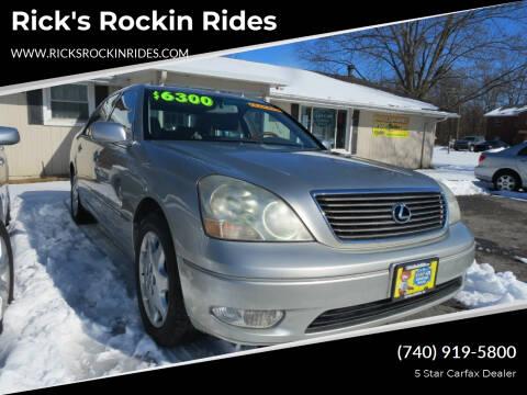 2003 Lexus LS 430 for sale at Rick's Rockin Rides in Reynoldsburg OH