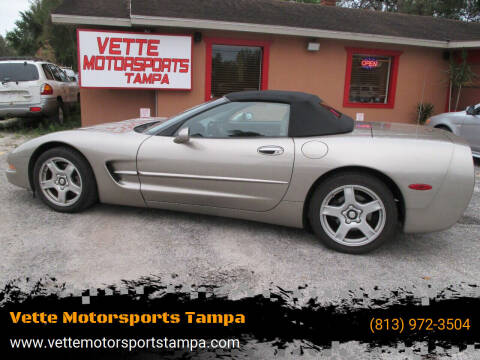 1999 Chevrolet Corvette for sale at Auto Liquidators of Tampa in Tampa FL