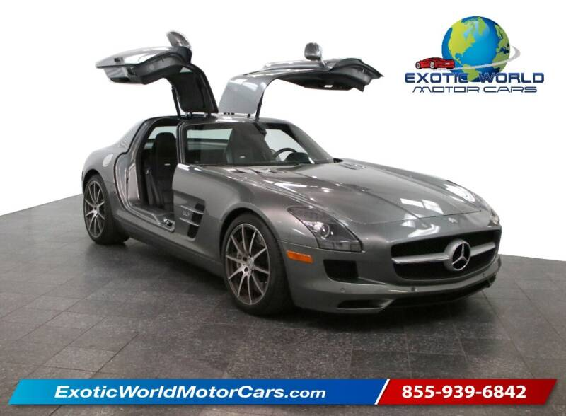2011 Mercedes-Benz SLS AMG for sale at Exotic World Motor Cars in Addison TX
