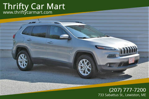 2014 Jeep Cherokee for sale at Thrifty Car Mart in Lewiston ME