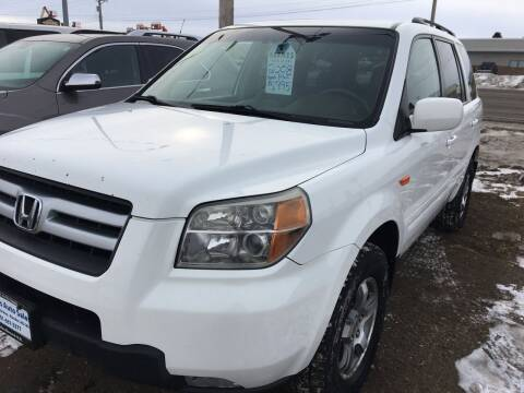 2008 Honda Pilot for sale at BARNES AUTO SALES in Mandan ND
