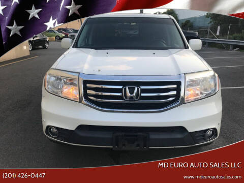2012 Honda Pilot for sale at MD Euro Auto Sales LLC in Hasbrouck Heights NJ