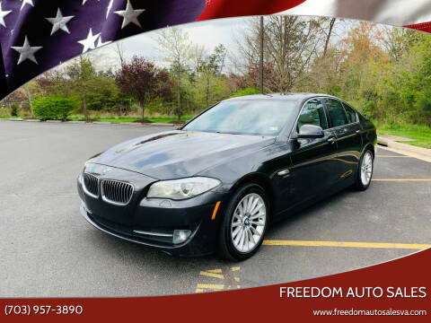 2011 BMW 5 Series for sale at Freedom Auto Sales in Chantilly VA
