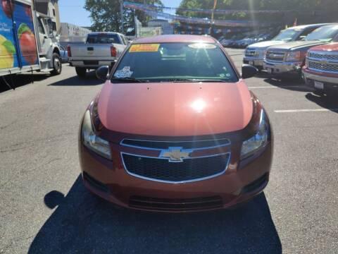 2012 Chevrolet Cruze for sale at Elmora Auto Sales in Elizabeth NJ