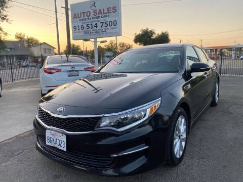 2017 Kia Optima for sale at A1 Auto Sales in Sacramento CA