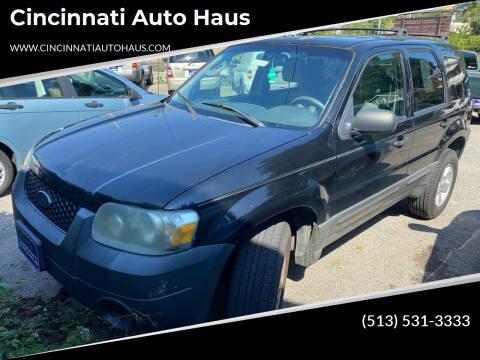 2006 Ford Escape for sale at Cincinnati Auto Haus in Cincinnati OH