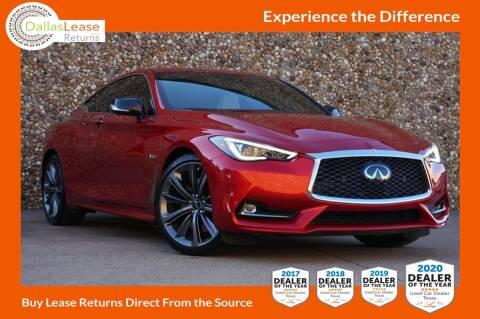 2020 Infiniti Q60 for sale at Dallas Auto Finance in Dallas TX