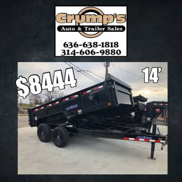 2021 Load Trail 14' Dump Trailer for sale at CRUMP'S AUTO & TRAILER SALES in Crystal City MO