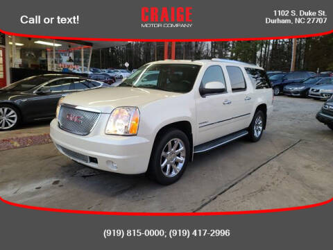 2010 GMC Yukon XL for sale at CRAIGE MOTOR CO in Durham NC