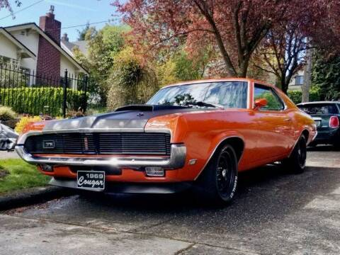 1969 Mercury Cougar for sale at Drager's International Classic Sales in Burlington WA