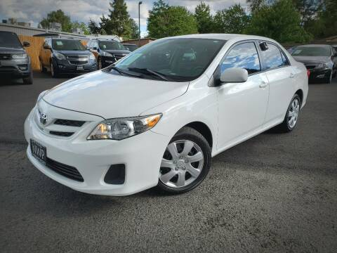 2012 Toyota Corolla for sale at Northwest Premier Auto Sales in West Richland And Kennewick WA