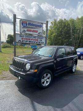 2014 Jeep Patriot for sale at ROUTE 11 MOTOR SPORTS in Central Square NY