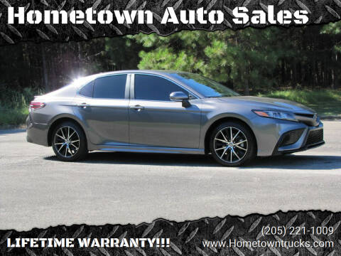 2021 Toyota Camry for sale at Hometown Auto Sales - Cars in Jasper AL