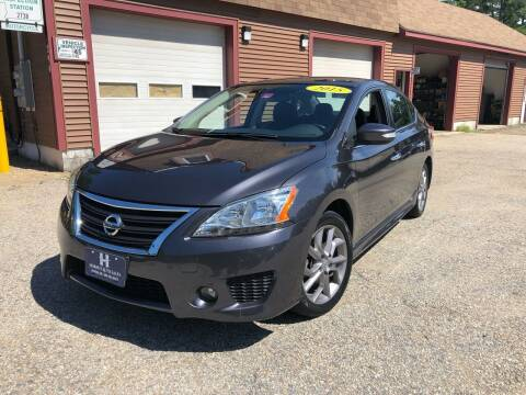 2015 Nissan Sentra for sale at Hornes Auto Sales LLC in Epping NH