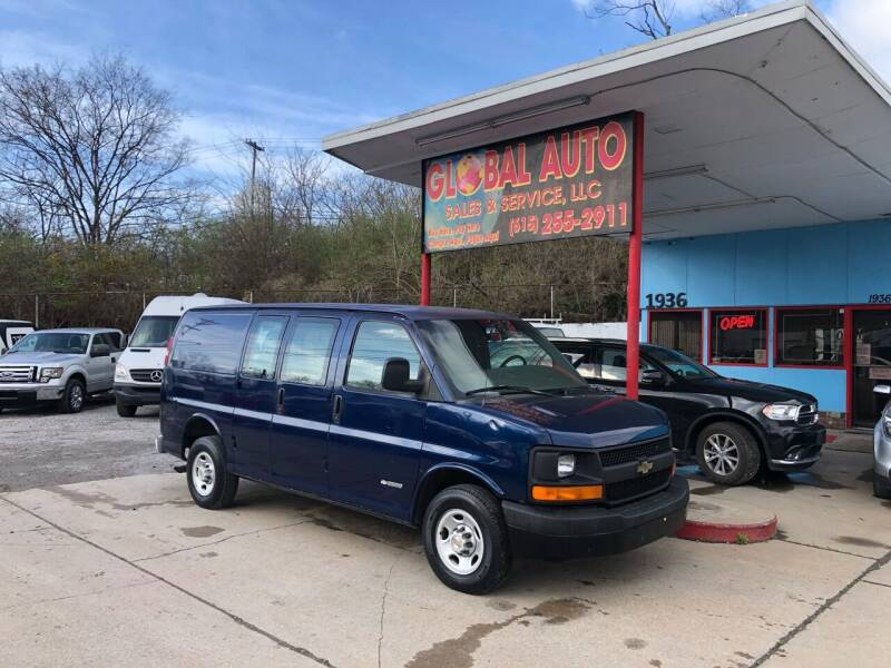 2003 Chevrolet Express Cargo for sale at Global Auto Sales and Service in Nashville TN