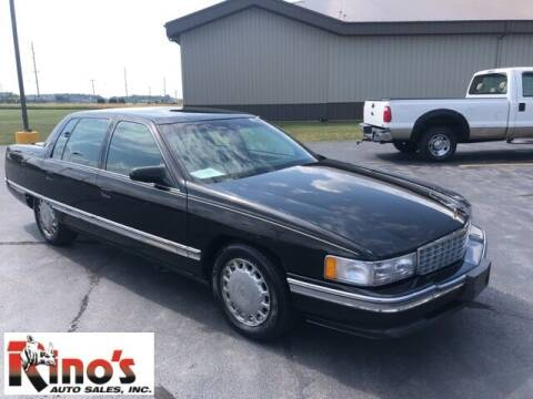 1996 Cadillac DeVille for sale at Rino's Auto Sales in Celina OH