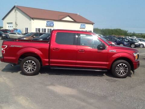 2019 Ford F-150 for sale at Garys Sales & SVC in Caribou ME