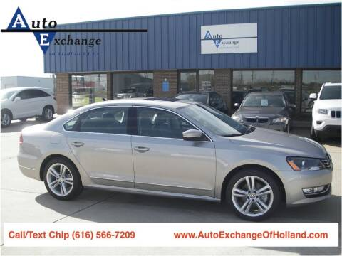 2012 Volkswagen Passat for sale at Auto Exchange Of Holland in Holland MI