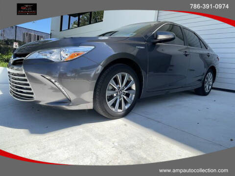 2017 Toyota Camry Hybrid for sale at Amp Auto Collection in Fort Lauderdale FL