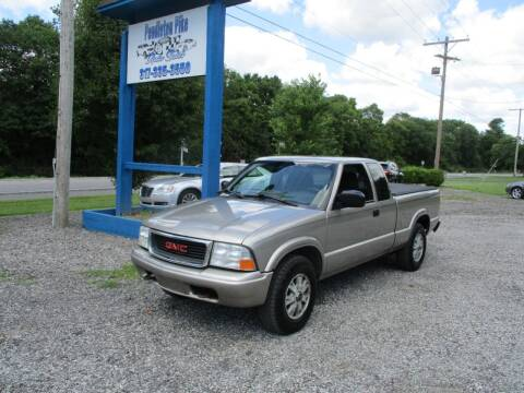 2003 GMC Sonoma for sale at PENDLETON PIKE AUTO SALES in Ingalls IN