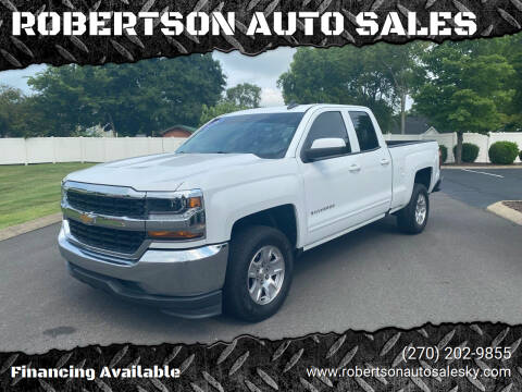 2016 Chevrolet Silverado 1500 for sale at ROBERTSON AUTO SALES in Bowling Green KY