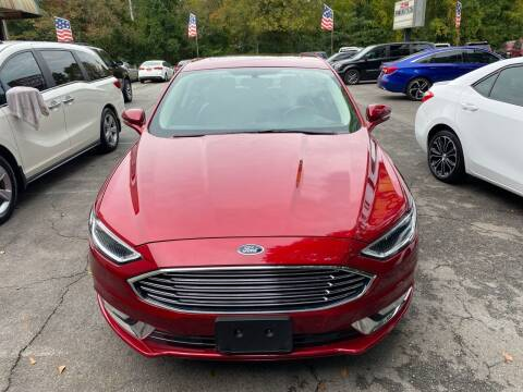 2017 Ford Fusion for sale at J Franklin Auto Sales in Macon GA