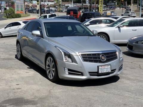 2014 Cadillac ATS for sale at CAR CITY SALES in La Crescenta CA