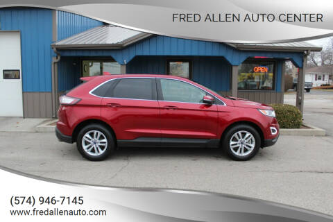 2017 Ford Edge for sale at Fred Allen Auto Center in Winamac IN