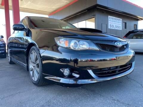 2009 Subaru Impreza for sale at JQ Motorsports East in Tucson AZ