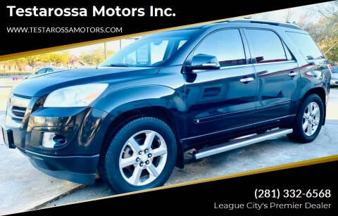 2008 Saturn Outlook for sale at Testarossa Motors Inc. in League City TX